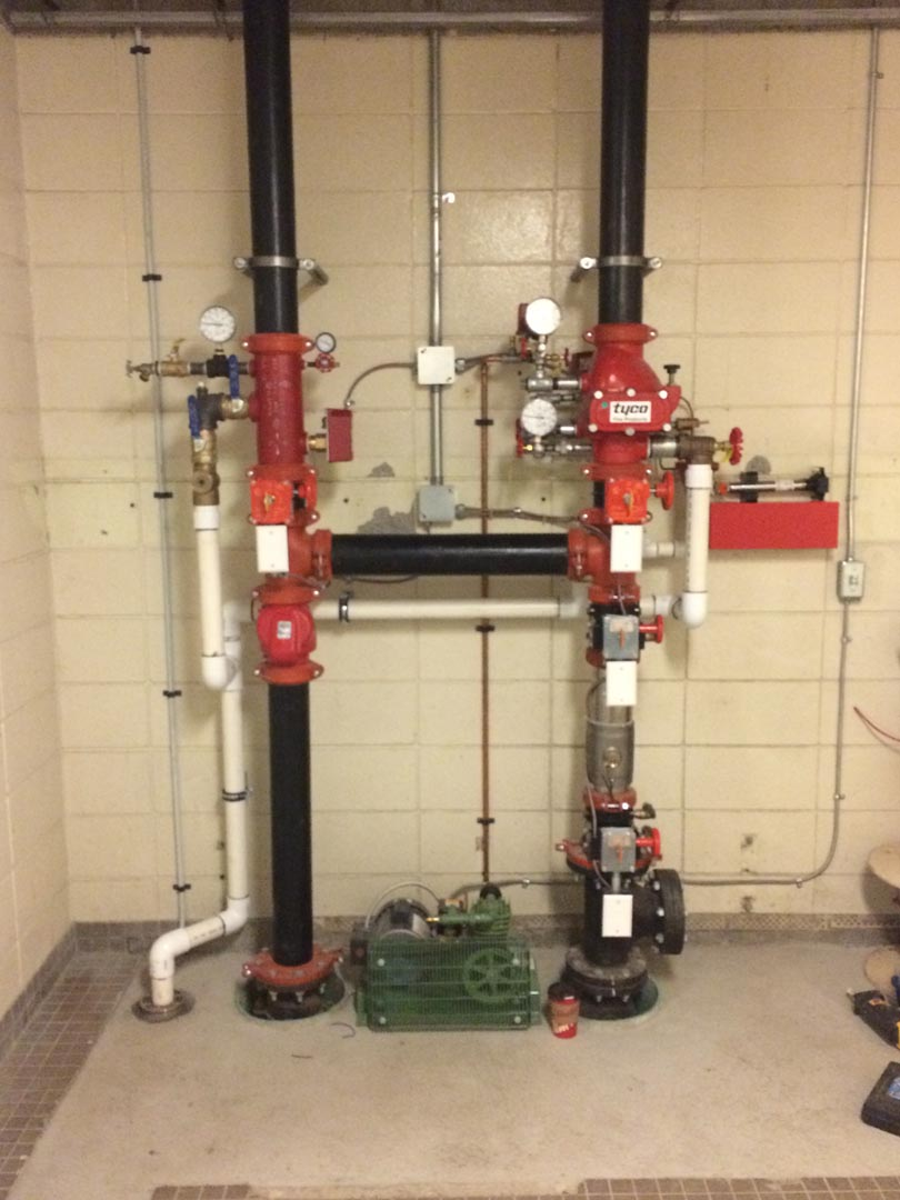 Pinecrest Elementry School Fire Sprinkler Upgrade