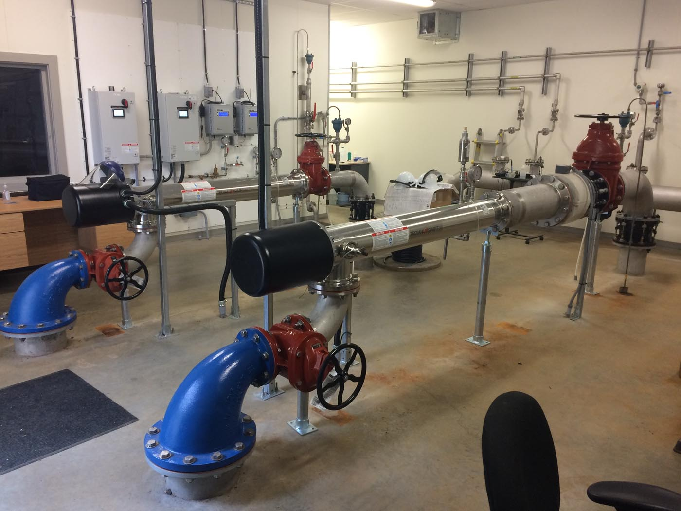 Oyster River Water Treatment Facility UV Upgrades