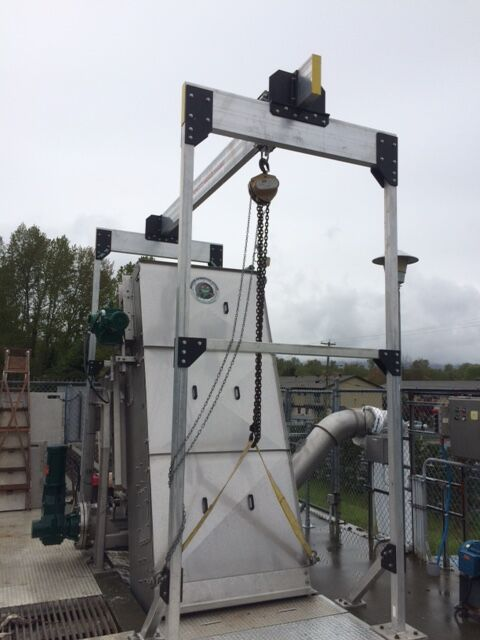 JUB Wastewater Treatment Facility Influent Screening and Effluent Disinfection Upgrades
